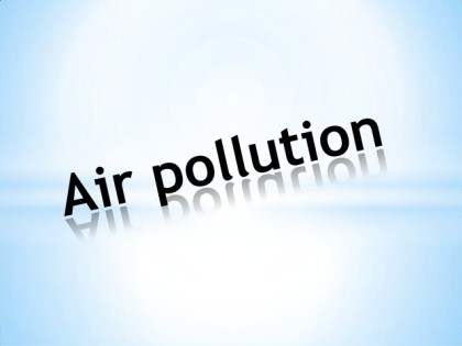 Regular exposure to even low levels of air pollution bad for Heart