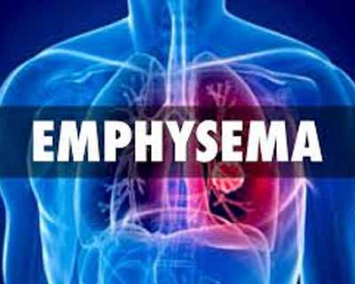 Breakthrough device for treating breathing difficulty in severe emphysema