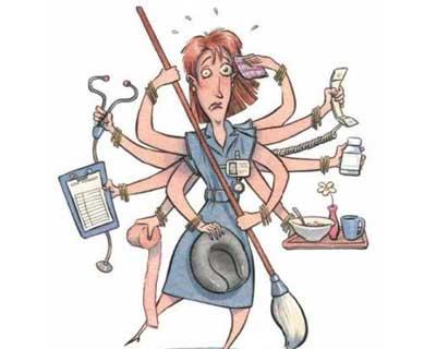 High Stress levels in Govt Hospitals Ward Nurses :PGIMER Study