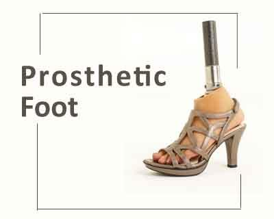 A prosthetic foot that lets disabled wear heels