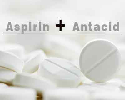 Serious bleeding risk with OTC antacid products containing aspirin- FDA