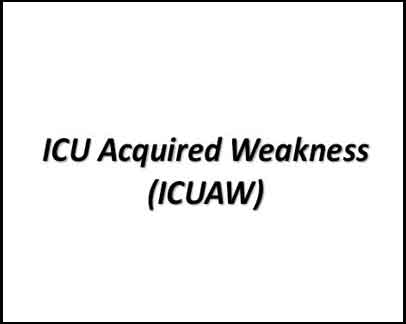 ATS Guideline on diagnosis of ICU-acquired weakness in adults