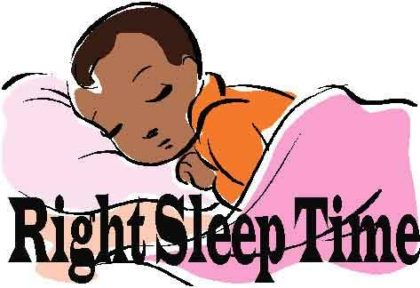 Right Sleep time for Children: American Academy of Pediatrics Recommendations
