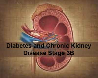 Management of Diabetes and Chronic Kidney Disease Stage 3b or higher-NDT Guideline