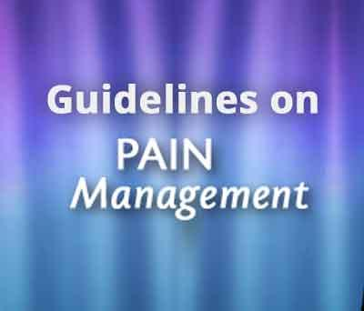 Chronic Cancer Pain Management Guidelines