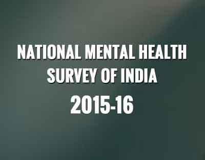 NIMHANS National Mental Health Survey 2015-2016