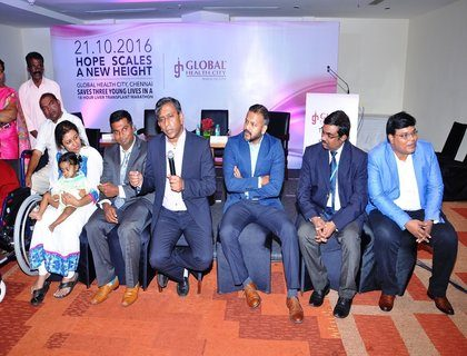Global hospitals successfully completes 3 paediatric liver transplant surgeries in a record time of 18 hours