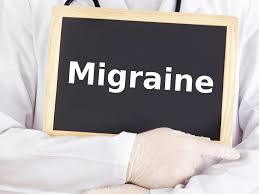 Migraine associated with jaw bone disease