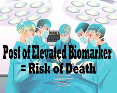 Elevated Biomarker Following Surgery Linked to Increased Risk of Death: JAMA Study