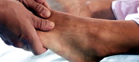 Delhi man dies after mother massages his injured ankle having DVT