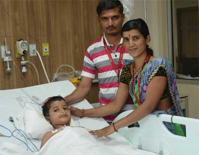 6-year-old with critical heart ailment saved after surgery at HN Reliance Foundation Hospital