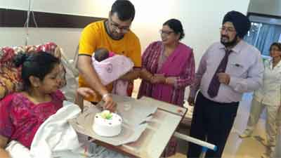 Paralysed pregnant woman successfully delivers baby at Indian Spinal Injuries Centre