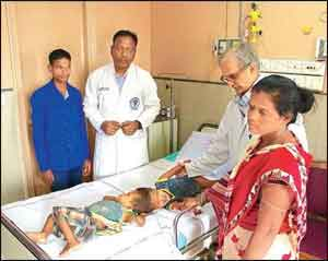 40 AIIMS doctors begin surgery to separate conjoined twins joined at head
