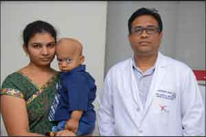 KIMS Doctors Successfully Perform Bone Marrow Transplant procedure on a 2-Yr-Old Patient