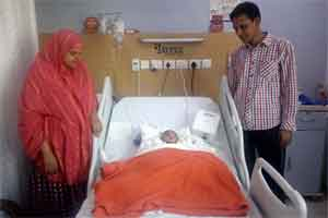 Four months old Bangladeshi infant given a new lease of life at Jaypee Hospital