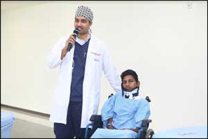 KIMS Doctors lease new life to patient with congenital deformity by using 3D technology
