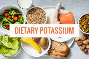 Dietary potassium regulates calcification of arteries