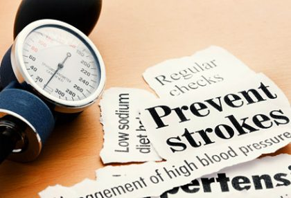 Stroke : Prevention and treatment