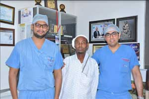 KIMS Doctors perform Total Hip Replacement Surgery Successfully on a Somalia Patient