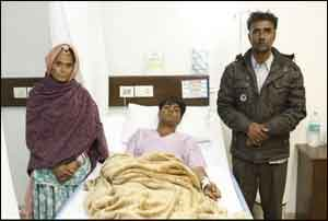 Paras Hospitals conducts complex brain tumor surgery, saves life of a 20 year old boy