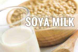 Soy milk most nutritious plant-based milk for lactose intolerance