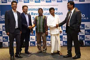 Apollo Hospitals perform India's First minimally invasive Hybrid Revascularisation surgery