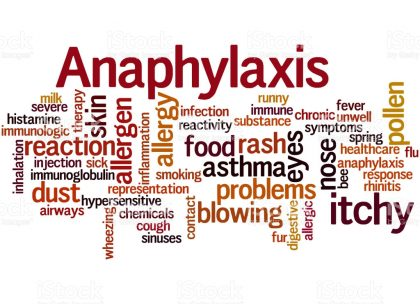 RCoA Recmmendations on Anaphylaxis in anaesthesia and surgery