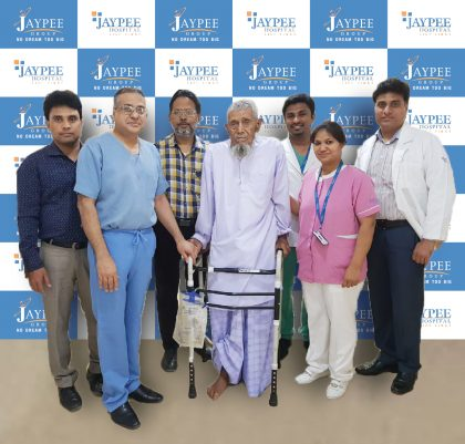 Indian doctors conducted hip replacement surgery in a patient as old as 103-years