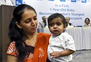 Apollo Hospitals in Navi Mumbai performs a liver transplant on a one-year-old baby