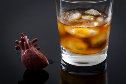 Even moderate level of Alcohol detrimental for HF patients with faulty Gene
