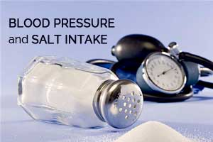 Flexible, wearable sensor to monitor salt intake in High Blood Pressure