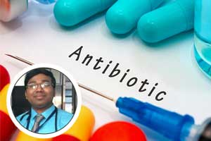 At least 30% of antibiotic use in outpatient settings unnecessary : Dr. Monojit Mondal