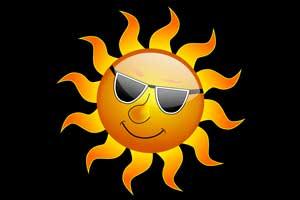What should sensitive patients do to avoid sunburn ?