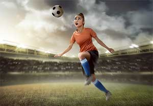 MRIs show more damage of soccer in women : Journal Radiology Study