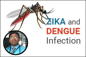 Clinical predictors to distinguish between Zika and Dengue infection: Dr Manojit Mondal