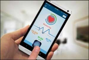 New blood pressure app that gives accurate readings using an iPhone