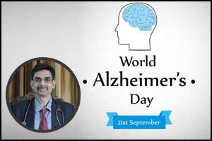 Prevent dementia, Stay mentally young on Alzheimer's Day : Dr Srikant Sharma