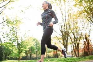 Exercise in no way impacts onset of Menopause