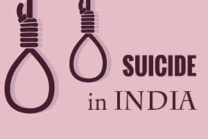 Suicide ranks first as cause of death among young adults in India: Lancet