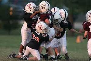 Even single season of football may disrupt brain development in youth