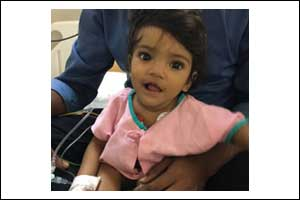 Apollo doctors remove LED bulb from an infant's bronchus