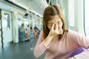 Migraine with visual aura increases risk for irregular heartbeat