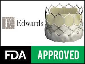 FDA approves latest generation TAVR Device