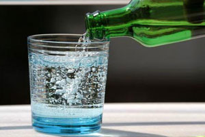 Beware- Even sparkling water may cause life threatening allergy