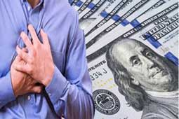 Sudden drop in Personal Income linked to Heart Attack, Death: AHA study