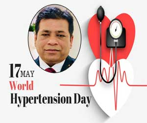 World Hypertension Day: Know Your Numbers, Don't Sit But Act Now – Dr Dilip Kumar