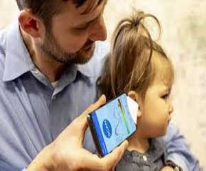 Researchers develop first ever smartphone app that can hear ear infections in children