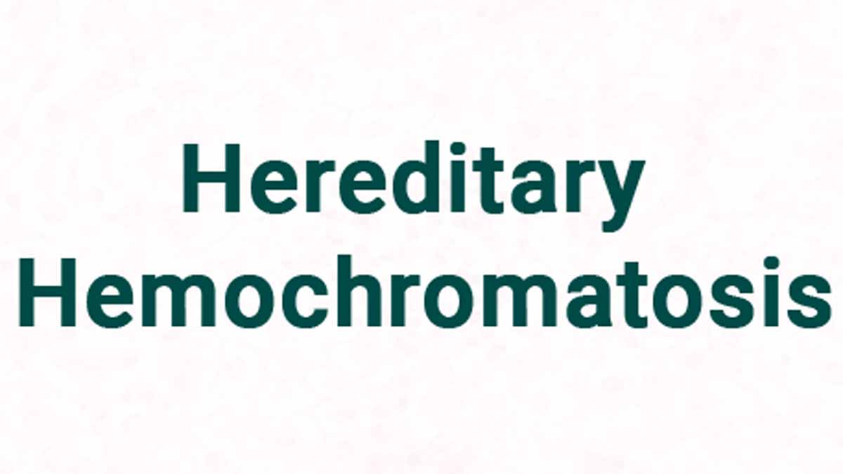 Management of hereditary hemochromatosis- New guidelines released by American college of gastroenterology