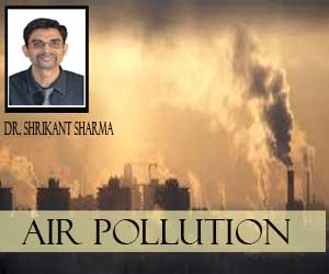 Air Pollution : a mass poisoning. . Each minute 2 people die due to air pollution
