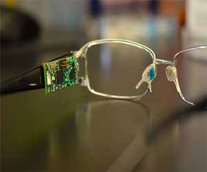 Biosensor fitted glasses a painless method of measuring blood sugar in diabetes